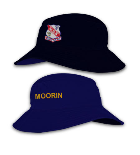 Meingandan State School_Reverse Bucket Hats_3D Image_Royal
