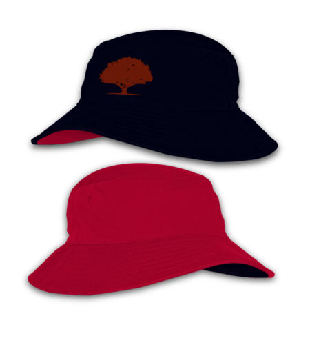 Red Oak_Reverse Bucket Hats_Navy