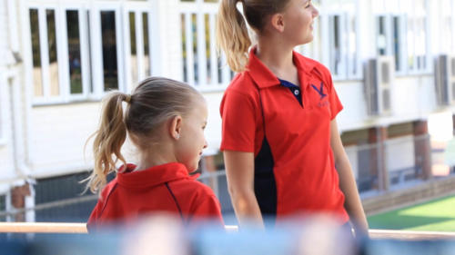 RED Paneled School House Polos-11